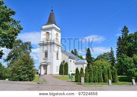 Hamina, Finland.  St. Mary Church