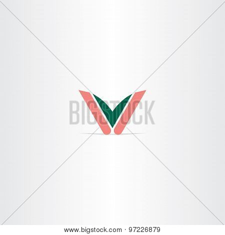 Logo V Letter Vector Icon Logotype