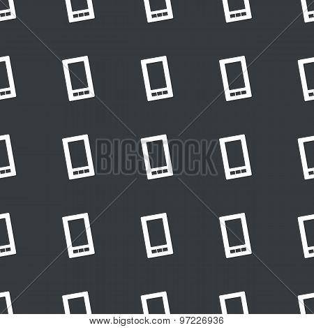 Straight black smartphone pattern