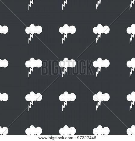 Straight black thunderstorm pattern