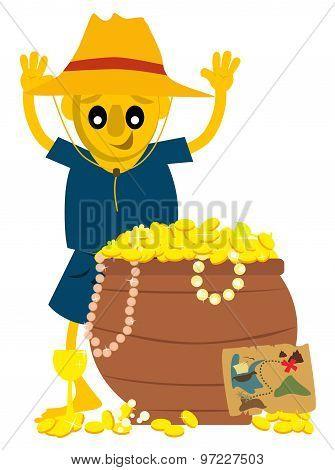 Explorer found gold