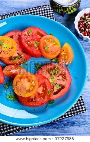 Salad Of Tomatoes