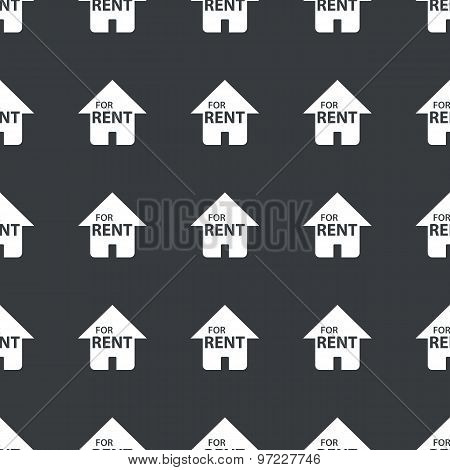 Straight black for rent pattern