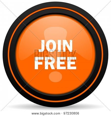 join free orange icon