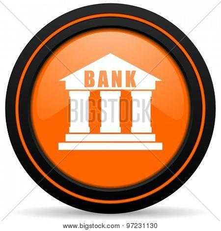 bank orange icon