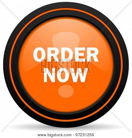 order now orange icon