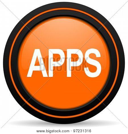 apps orange icon