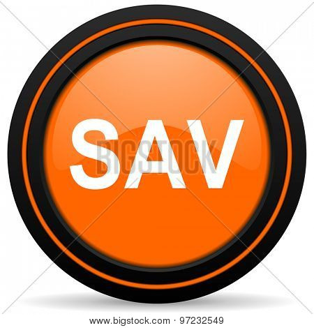 sav orange icon