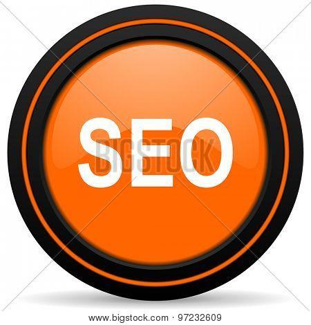 seo orange icon