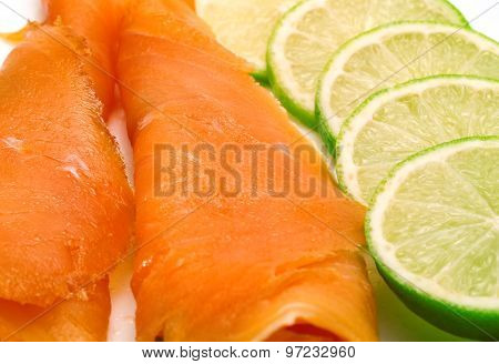 Salmon With Lime