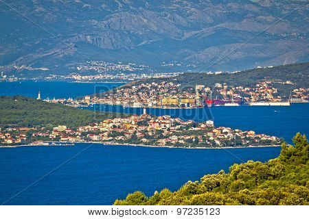 Trogir Bay Adriatic Archipelago View