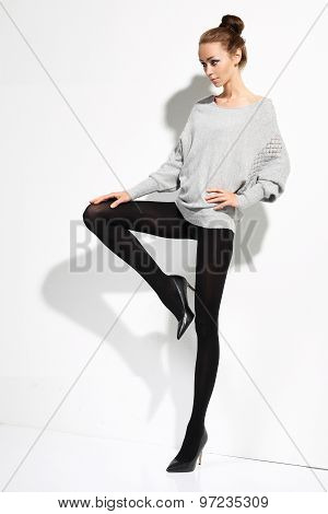 Fashion in tights