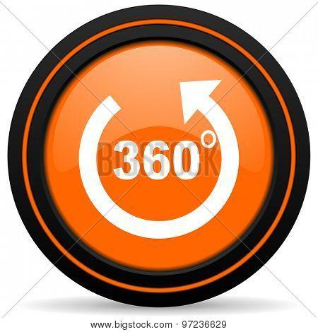 panorama orange icon