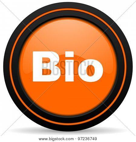 bio orange icon