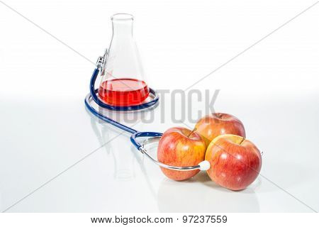 Stethoscope With Apple, Analytical