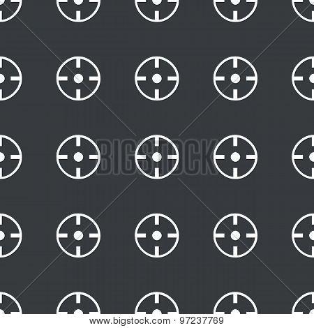 Straight black target pattern