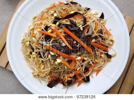 China vegetable dish