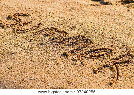 Summer On Beach