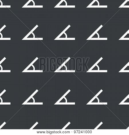 Straight black angle pattern