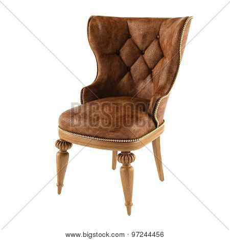 Modern leather chair
