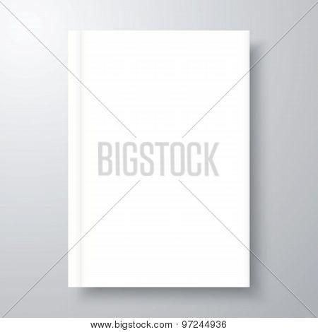 Blank Empty Book Mockup