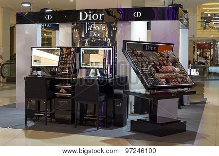 Christian Dior Store In Siam Paragon Mall In Bangkok, Thailand.