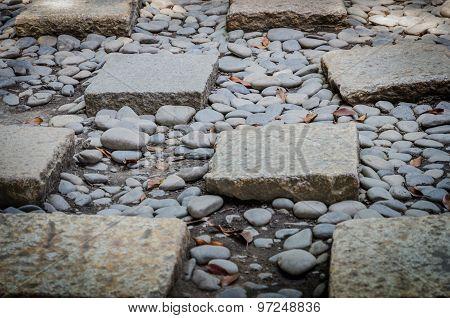 Stone Brick Walkway