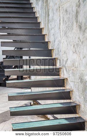 Metal Stairway