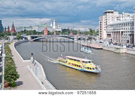 Moscow. River Moskva
