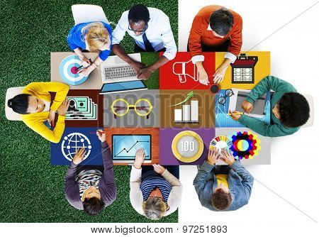 Finance Accounting Investment Global BUsiness Concept