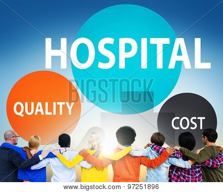 Hospital Quality Cost Health care Treatment Concept
