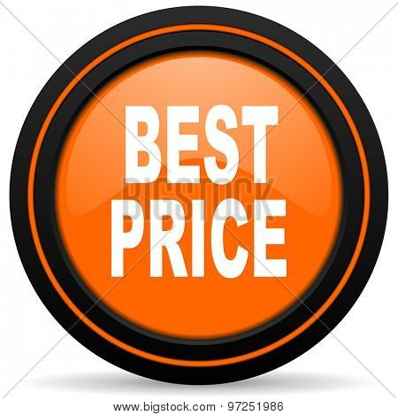 best price orange icon