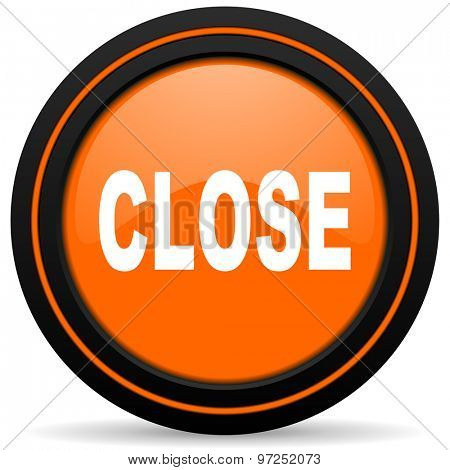 close orange icon
