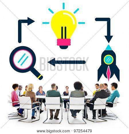 Ideas Inspiration Imagination Vision Innovation Concept