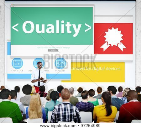 Quality Excellence Efficiency Reliable Seminar Conference Learning