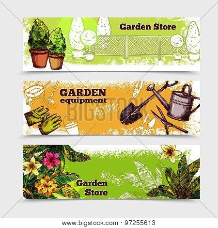 Garden Banner Set