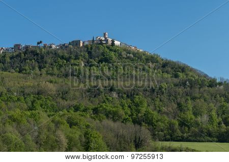 Motovun - picturesque Istrian village in Croatia.