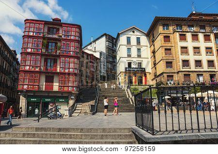 Bilbao, Spain city center