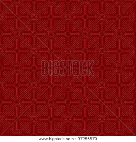 Seamless Chinese style window tracery lattice triangle geometry pattern background.