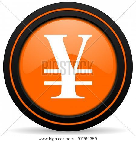 yen orange icon