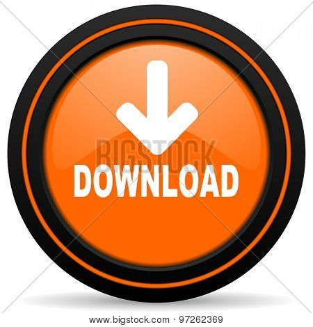 download orange icon