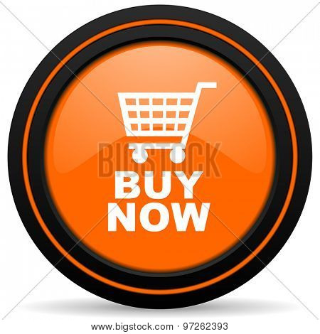 buy now orange icon