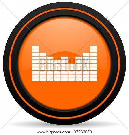 sound orange icon