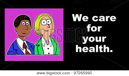 We care for your health