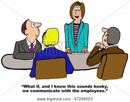 Communicating with the Employees