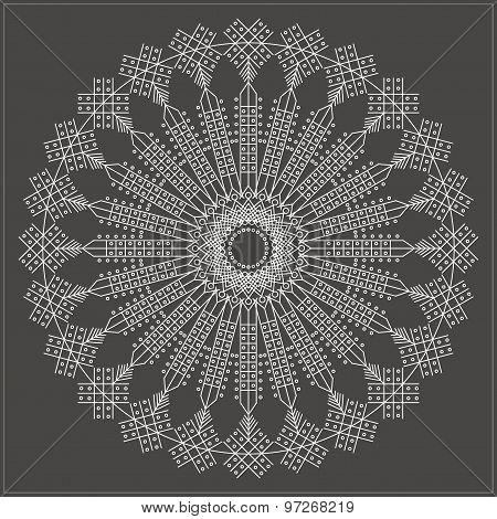 Geometric Linear Circule Logotypes649546