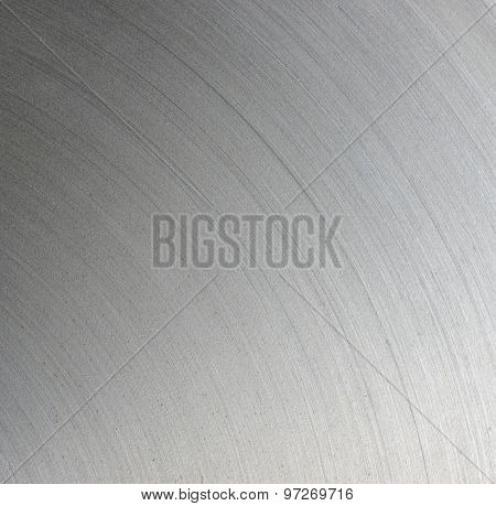Brushed steel plate texture with reflections