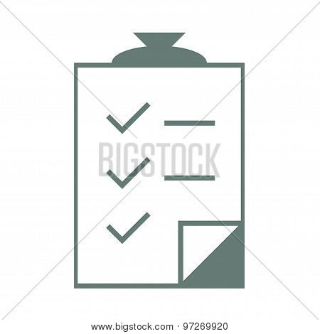 Checklist Clipboard - Stock Illustration