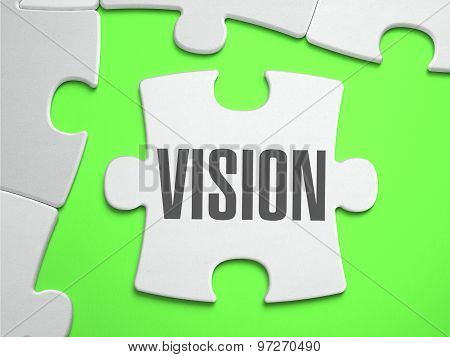 Vision - Jigsaw Puzzle with Missing Pieces.