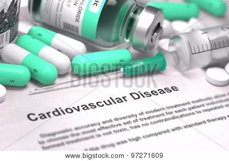Diagnosis - Cardiovascular Disease. Medical Concept.